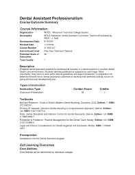 resume exles for with no experience dental assistant resume exles no experience exles of resumes