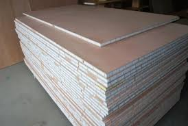 lightweight structural marine honeycomb sandwich plywood for boat