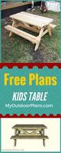 Free Plans For Building A Picnic Table by Build Yourself A Picnic Table With One Of These 14 Free Plans