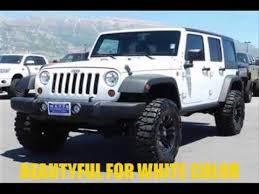 white 4 door jeep wrangler 2016 jeep wrangler top 4 door white color edition