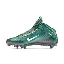 nike alpha pro 2 3 4 d mens detachable football cleats deep forest