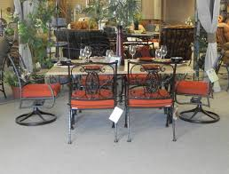wrought iron patio furniture sets orange county ca outdoor tables