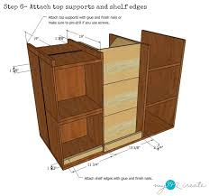 how to make an kitchen island kitchen island with pantry storage my 2 create