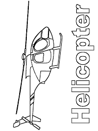 helicopter transportation coloring pages for kids free coloring