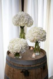 hydrangea wedding centerpieces simple white hydrangea wedding centerpiece the sonnet house
