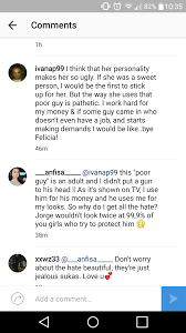 jorge anfisa what does he do anfisa is starting to reply to a lot of people on instagram