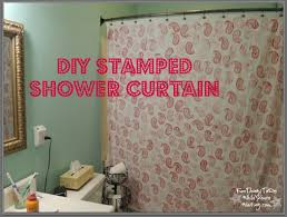 Diy Bathroom Curtains Diy Shower Curtain