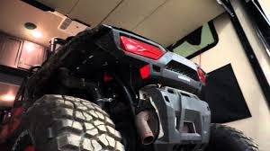 loading a rzr xp 1000 in a weekend warrior 4100w toy hauler 5th
