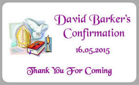 confirmation presents 21 confirmation thank you boys stickers gift presents