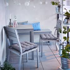 Outdoor Bistro Table And Chairs Ikea Pick A Color Scheme Seat Cushions Balconies And Bench