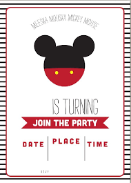 Free Mickey Mouse Baby Shower Invitation Templates - 2801 best free printable invitation templates bagvania com