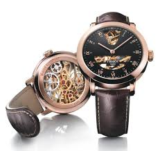 tissot watches leather bracelet images Tissot sculpture line skeleton watch watch review jpg