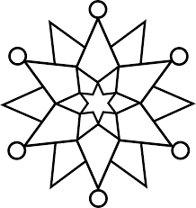 snowflake line free clip