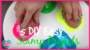 5 diy easter stamp projects with household objects easy