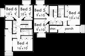 corner lot duplex plans 6 bedroom house plans internetunblock us internetunblock us