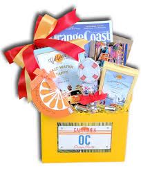 california gifts gift baskets orange county irvine ca christmas custom