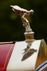 auto hair inspired rolls royce ornament