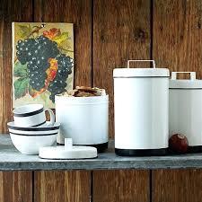 enamel kitchen canisters modern canister set modern kitchen canisters set modern kitchen