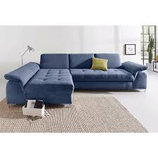 canapé d angle en velours canapé d angle méridienne fixe droite gauche accoudoirs réglables