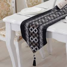 Home Decor Factory Decor Black Tablecloth Factory Coupon With Chic Pattern For Home