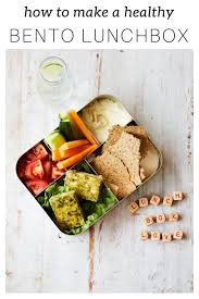 how to make a healthy bento lunch box