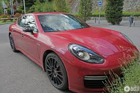 porsche panamera turbo red porsche 970 panamera turbo s mkii 11 june 2016 autogespot