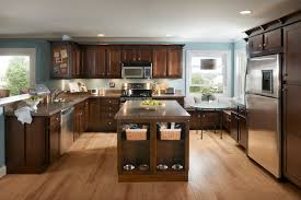 furniture mesmerizing wooden kitchen armstrong cabinets in gray