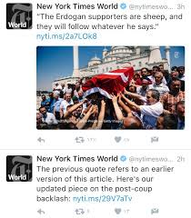 mediapost siege social turkey analysts slam biased media s post coup reporting