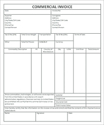 commercial invoices for exporting templates what is export invoice commercial invoice template export invoice