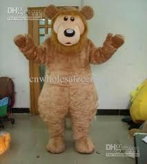 Brown Bear Halloween Costume Big Fat Brown Bear Mascot Costume B00 Toddler Costumes Teen
