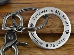 remembrance keychain maven metals customized jewelry leather key chains