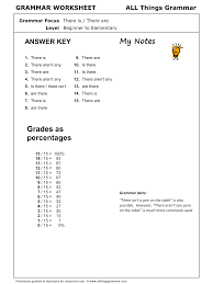 english grammar worksheet there is there are http www