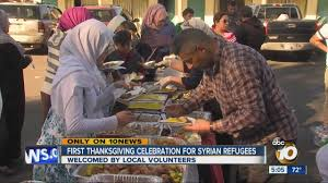 thanksgiving welcome nowhere first thanksgiving celebration for syrian refugees youtube