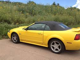 2004 mustang gt for sale 4th yellow 2004 ford mustang gt convertible sold