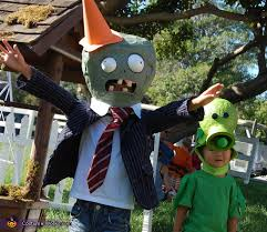 Conehead Costume Plants Vs Zombies Creative Costumes For Kids
