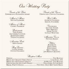 Wedding Ceremony Program Ideas Wedding Ceremony Programs Wedding Ceremony Programs Holiday