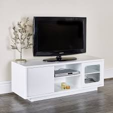 Modern White Tv Table Stand Modern White Tv Entertainment Unit Abreo Home Furniture