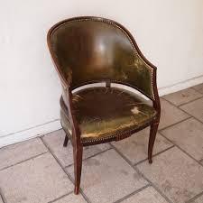 bureau en anglais fauteuil de bureau anglais fin 19es acajou massif dossier en