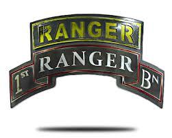 Army Ranger Flag Army Ranger Tab Hex Head Art