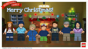 personalized christmas cards create lego minifigure picture of your family printable
