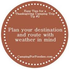 Thanksgiving Camping Recipes Thanksgiving Dinner At The Campsite With Traditional