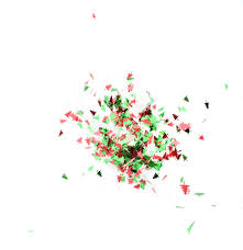 photo tree confetti in motion free christmas images