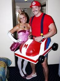 Mario Luigi Halloween Costumes Couples 66 Mario Brothers Halloween Images Mario
