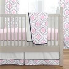 Moroccan Crib Bedding Pink And Navy Moroccan Damask Crib Bedding Carousel Designs