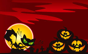 tiled halloween background halloween art and backgrounds