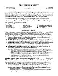Resume For Military Ideas Of Sample Resume For Quality Manager On Format Layout