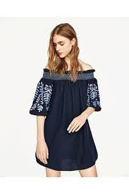 zara embroidered women u0027s dresses compare prices and buy online
