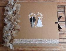 handmade wedding albums handmade wedding photo albums ebay