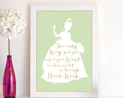 tiana silhouette etsy