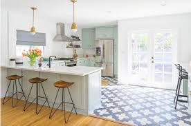 blue and white kitchen ideas remarkable flooring accent and material ideas design ideas